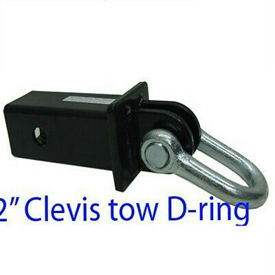 2'' Hitch Clevis Tow D-ring Shackle Bow 5,000lb Capacity
