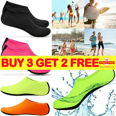 Women Men Water Shoes Aqua Socks Diving Socks Wetsuit Non-slip Swim Beach Z