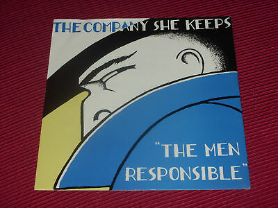 """The Company She Keeps:  The Men Responsible    PROMO 7""""   EX"""