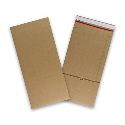 A5 217x155 mm Size Strong Book Wrap Postal Cardboard Mailing E-Flute Boxes