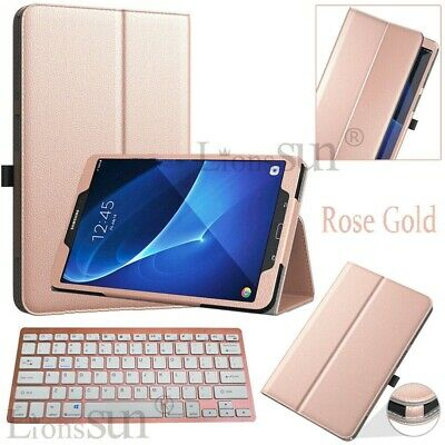 For Samsung Galaxy Tab A A6 S5e 8.0-10.1-10.5 Tablet Leather Keyboard Cover Case