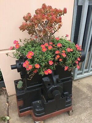 Antique Cast Iron Planter display shop display garden ornament