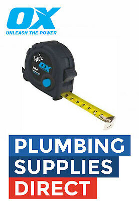OX Tools Trade Tape Measure 5M Metric/Imperial OX-T020605