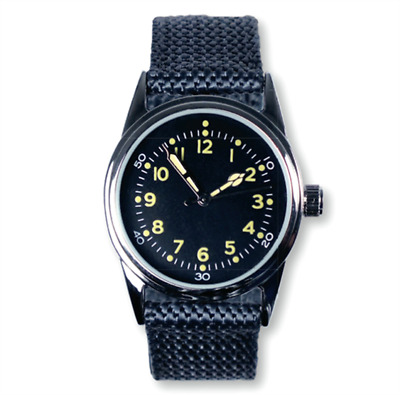EAGLEMOSS AMERICAN NAVY DIVER 1940's REPLICA MILITARY WATCH #88 NEW IN BOX £4.99