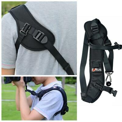 Focus F-1 Quick Rapid Sling Belt Neck Shoulder Strap For DSLR SLR Camera -Black