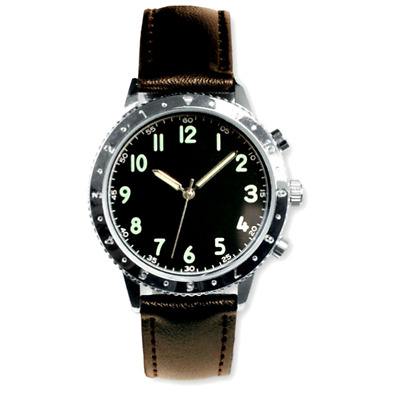 EAGLEMOSS FRENCH AIRMAN 1970's REPLICA MILITARY WATCH #95 NEW & BOXED £4.99