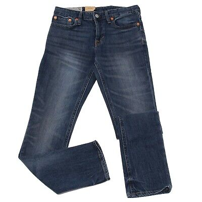 0233K jeans bimba GIRL RALPH LAUREN SUPER SKINNY blue denim pant