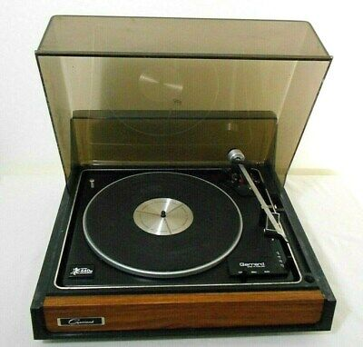 VINTAGE GARRARD MODEL 440M RECORD TURNTABLE, for PARTS or RESTORATION