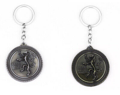 Game Of Thrones Lannister Keyring, Keychain, Keyfob. New.