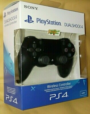 Official SONY DualShock 4 Wireless Controller V2 Jet BLACK Playstation 4 PS4