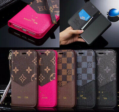 For iphone X XR XS XSMax 7 8 Plus Leather Wallet Flip over Cover V Pattern case
