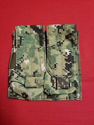 NEW Eagle Industries AOR2 Double (2x2) 556 Mag Pouch - BELT - Navy SEAL 5A2 EIUI