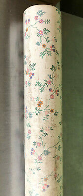Vintage Marks & Spencer 'Country Manor' floral washable ready pasted ...