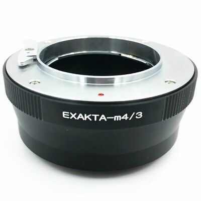 Exa-M4/3 Adapter Ring For Exakta Lens To Micro- 4/3 Body Gh4 Gh5 Bmpcc X7P8