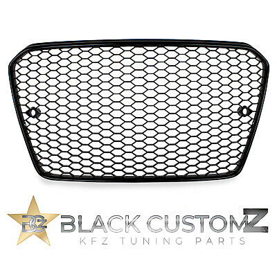 Audi A5 B8 8T Facelift S-Line Kühlergrill Wabengrill / RS 5 Look Gitter mit PDC