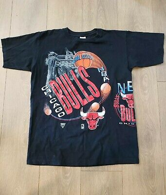 331c029a43d MICHAEL JORDAN AND MICHAEL JACKSON 90s VINTAGE T Shirt Chicago Bulls ...