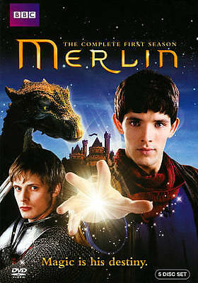 Merlin: The Complete First Season (DVD, 2012, 5-Disc Set) Brand New sealed