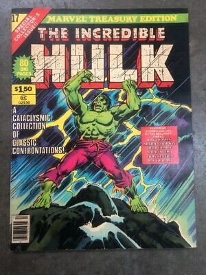 The Incredible Hulk-Marvel Treasury Edition-Oversized Comic #17 - 1978 MINT!!!!