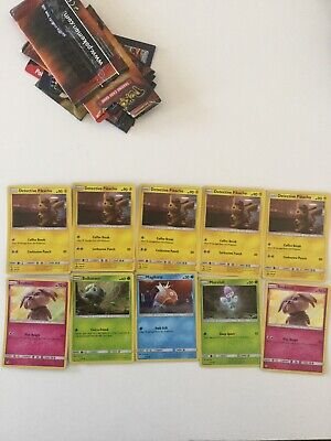 LIMITED Pokemon Detective Pikachu Movie 2 Card Pack  -PROMO 2019 10 Card Lot