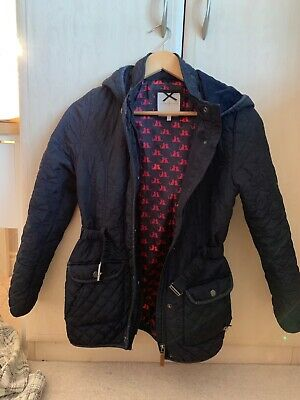 Jasper Conran girls navy jacket Age 12-13 - Used in excellent condition