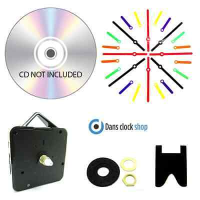 New 10 Pack DVD/CD Clock Making Kits Design Your Own cd clock School Projects