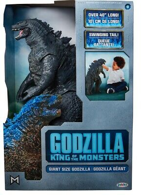 "Godzilla King of the Monsters 2019 Jakks Pacific Giant Size 24"" 40"" Long New"
