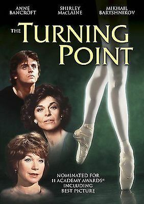 The Turning Point, Good DVD, Shirley MacLaine, Anne Bancroft, Mikhail Baryshniko