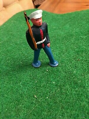 """Marine """"On The March"""" In Very Nice Condition; Same Day Shipping"""