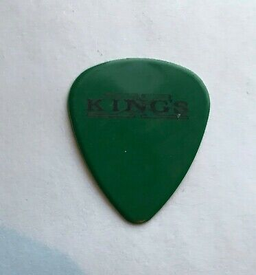 King's X - Doug Pinnick Signature 2004 Tour Issued Guitar Pick Green Kings