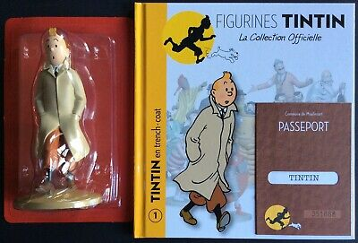 Tintin in Trench Official Collection Figure No 1 as New