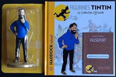 Tintin Haddock Doubtfully Official Collection Figurine N°2 as New