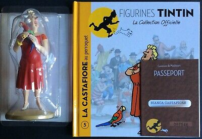 Tintin the Castafiore the Parrot Official Collection Figure No 5 as New