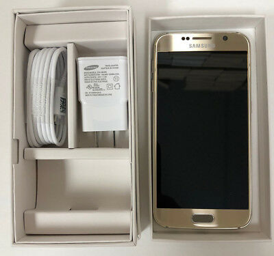 NEW Samsung Galaxy S6 G920 AT&T T-Mobile Factory Unlocked 32GB All Colors