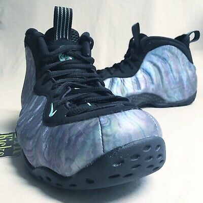 reputable site ed509 14be0 NIKE FOAMPOSITE PRO Aurora Green size 8 Eggplant Blue Camo Red Pink Galaxy  Gold