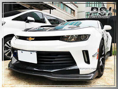 IMPERFECT EOS T6 Style CARBON FIBER Front Splitter Lip For 16-18 Camaro RS LT LS