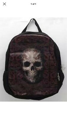 Anne Stokes Oriental Skull Backpack (RRP $39.90)  Brand New Free Post (bcp) To35