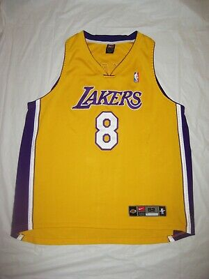 757f3d2513a03 Authentic Los Angeles Lakers Kobe Bryant Jersey Nike 52 Home Gold #8