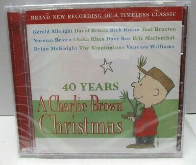 40 Years: A Charlie Brown Christmas by Various Artists (CD, Oct-2005, Peak...