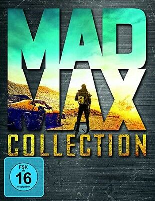 Mad Max - 1-4 Blu Ray Collection UNCUT Neu/OVP