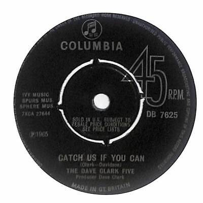 """The Dave Clark Five - Catch Us If You Can - 7"""" Vinyl Record"""
