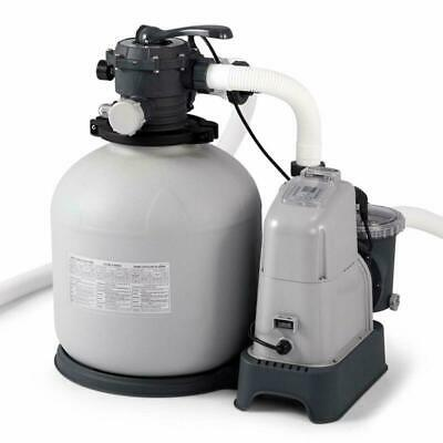 Intex Krystal Clear 2150 Gph Sand Filter Pump  Saltwater System With E.C.O. (El