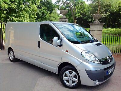 2013 Vauxhall Vivaro 2.0CDTi 115ps EU V Sportive 2900 LWB / ONE OWNER FROM NEW