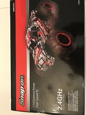 SNAP ON 1:16 Extreme Power High Speed RC Car Radio Control Truck Boxed New