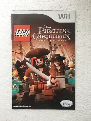 LEGO Pirates of the Caribbean - Nintendo Wii Game Manual - VGC