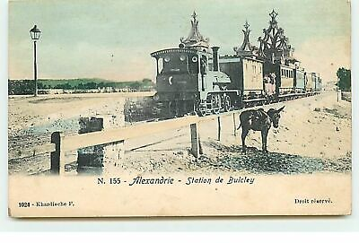 ALEXANDRIE - Station de Bulcley - Train