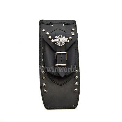 L) HARLEY DAVIDSON SOFTAIL HERITAGE DELUXE LEATHER TANK Pad Panel Chap Bib Cover