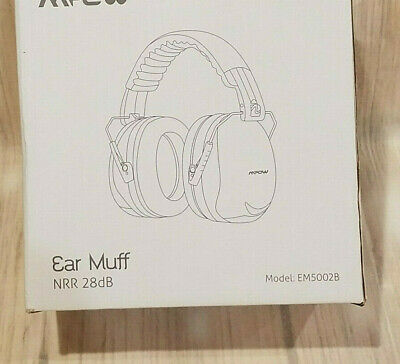 Mpow Em5002B Ear Muffs Earmuffs Noise Protection Reduction 28Db