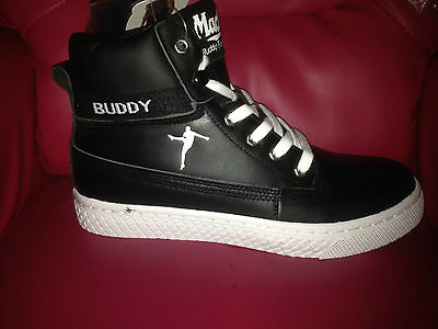 MACK BUDDY Junior leather Lace-Up High Top Boots sz 6 bnib free postage