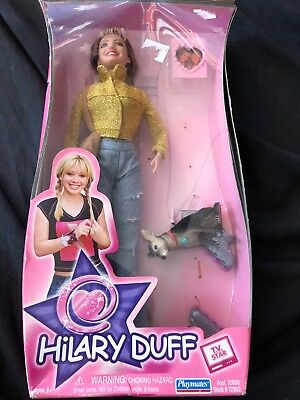 "Hilary Duff 12"" TV Star Doll Freepost (t)"
