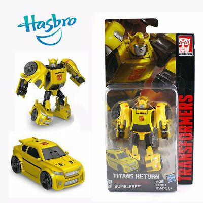 Hasbro Transformers Titans Return Bumblebee Action Figure Robot Toy Car Gifts